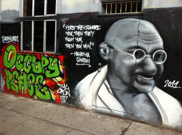Gandhi_Graffiti_San_Francisco