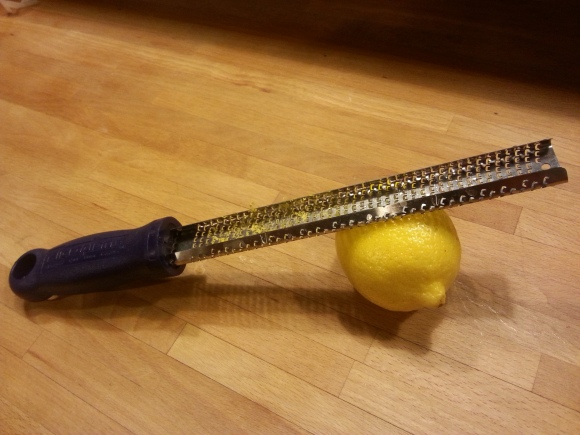 Add the zest of a lemon. It will help cut the creaminess of the soup and add brightness to the flavor.