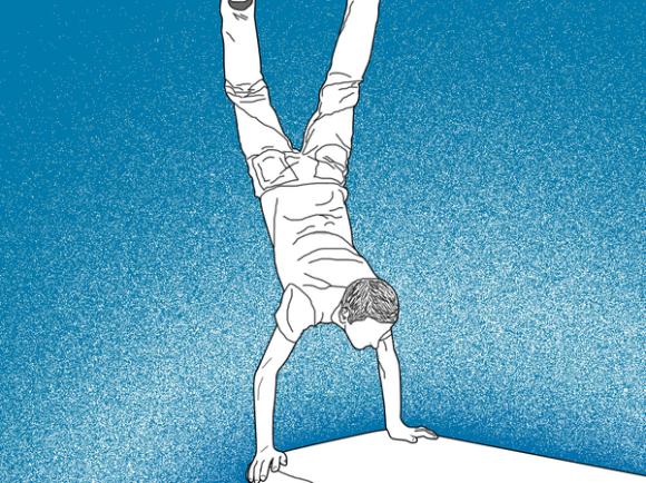 Handstand mandy learo