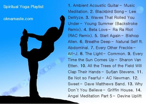 mandy learo spiritual yoga playlist