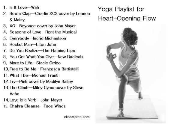 mandy learo yoga playlist