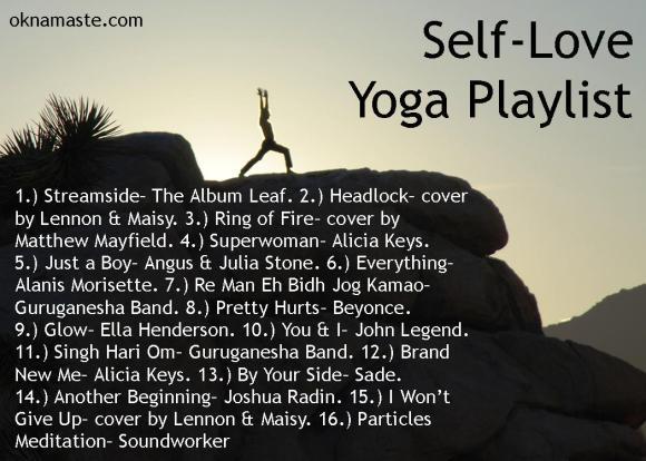 self love yoga playlist mandy learo