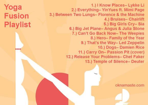 yoga fusion playlist