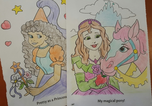coloring book color to relieve stress oknamaste