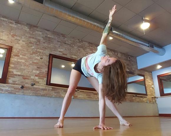 mandy learo easy yoga for stress