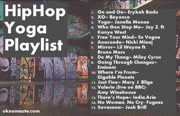 hiphop yoga playlist 1